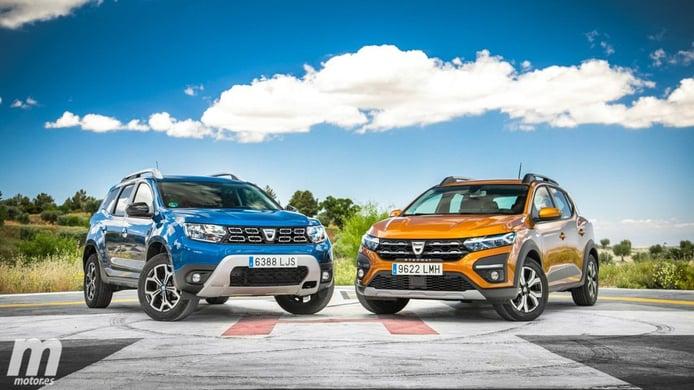 Dacia Duster GLP vs Dacia Sandero GLP
