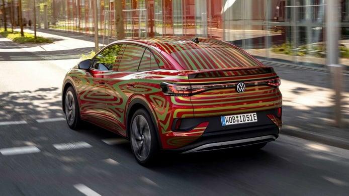 Teaser nuevo Volkswagen ID.5 GTX 2022