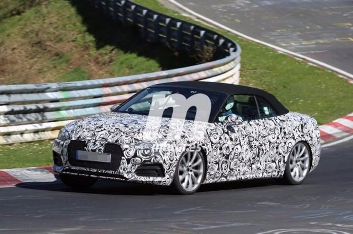 Audi S5 Cabrio 2017 - foto espía