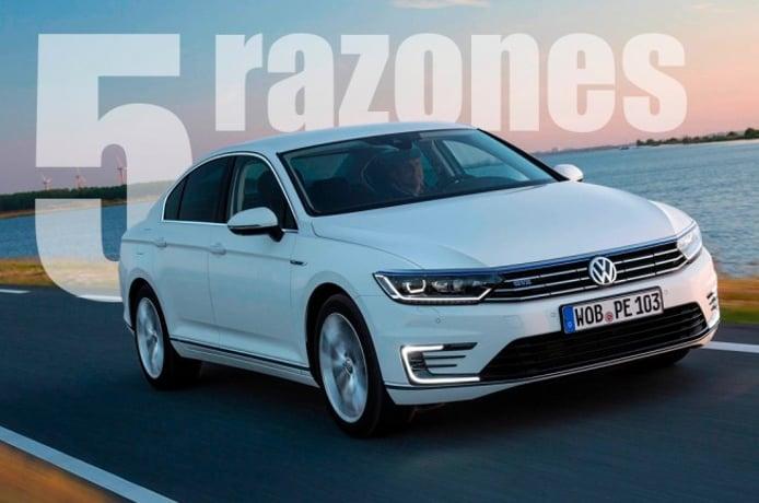Volkswagen Passat GTE - Las 5 razones que lo hacen un híbrido interesante