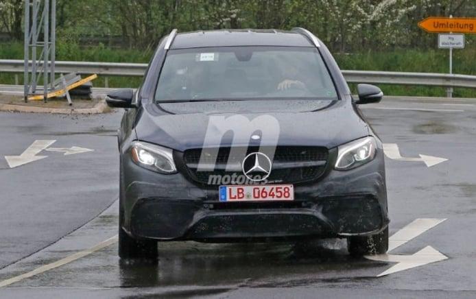 Mercedes-AMG GLC 63 - foto espía