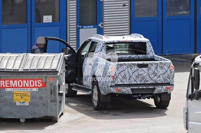 Mercedes-Benz Pick-up - foto espía