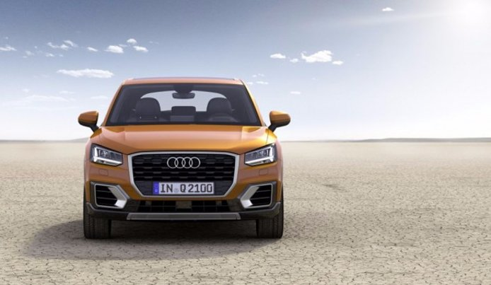 Audi Q2 - frontal