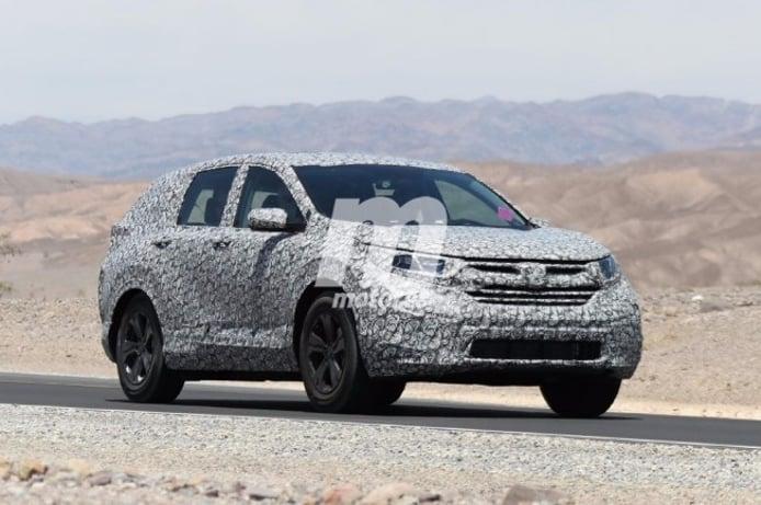 Honda CR-V 2018 - foto espía