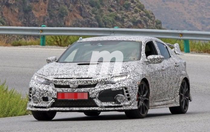 Honda Civic Type-R 2017 - foto espía