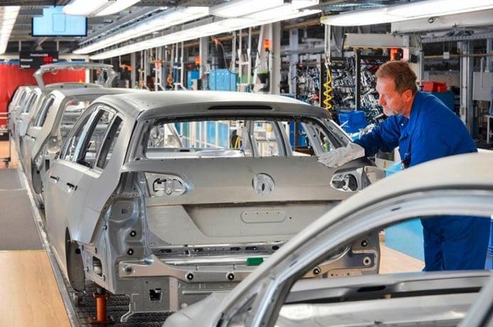 Volkswagen producción