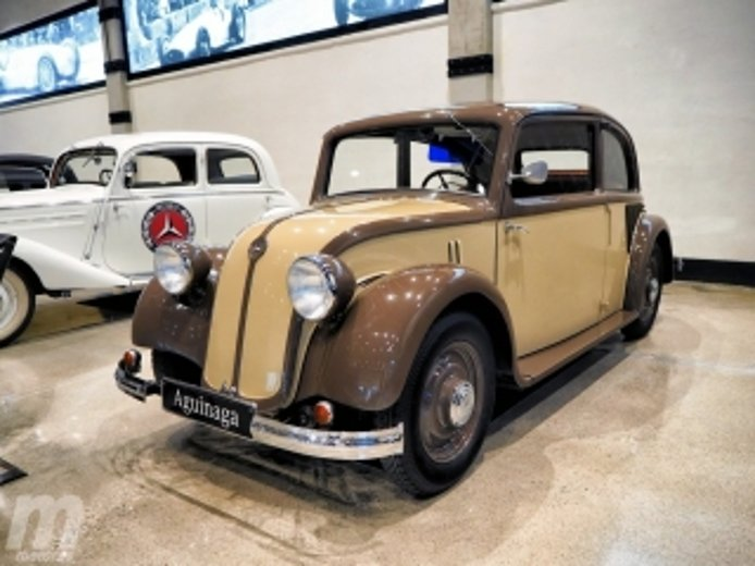 Foto 2 - Fotos Museo Aguinaga de clásicos Mercedes-Benz