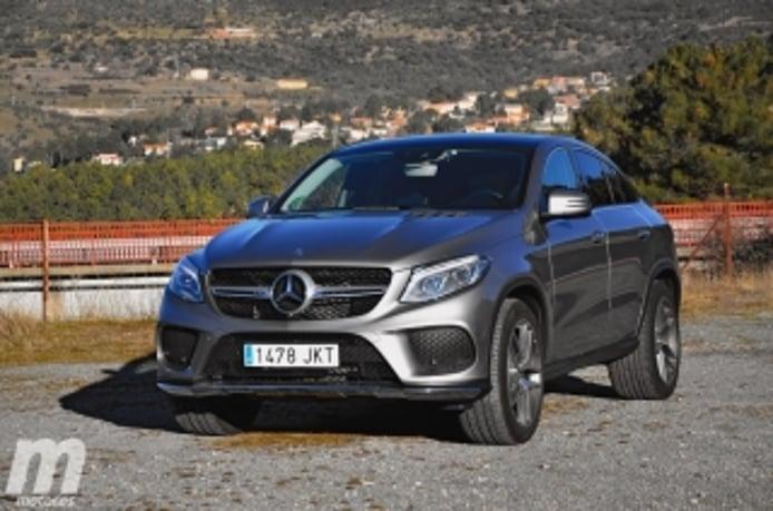 Foto 1 - Fotos prueba Mercedes GLE 350d Coupé