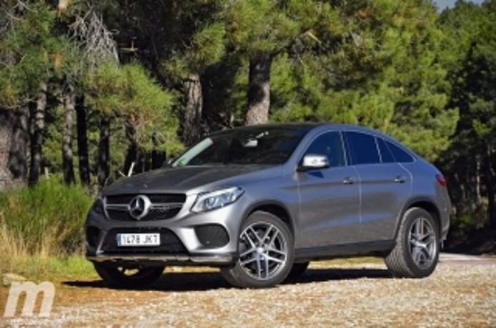 Foto 3 - Fotos prueba Mercedes GLE 350d Coupé
