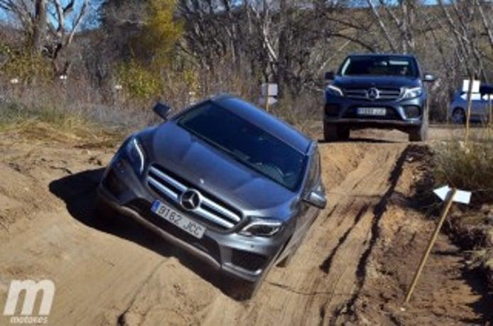 Foto 1 - Fotos prueba offroad gama SUV de Mercedes