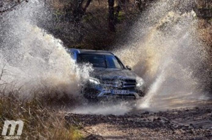 Foto 2 - Fotos prueba offroad gama SUV de Mercedes