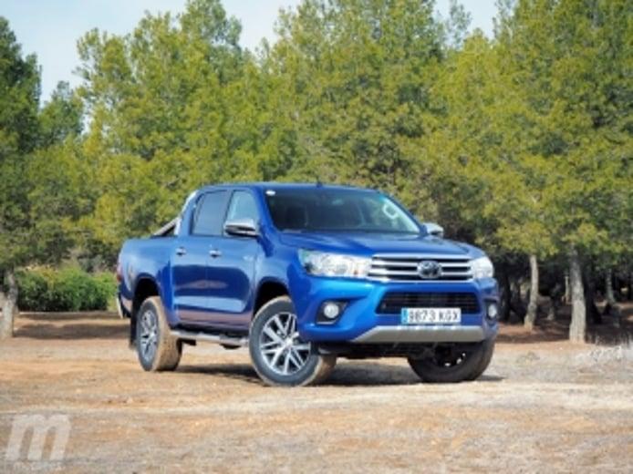 Foto 1 - Fotos prueba Toyota Hilux 2018