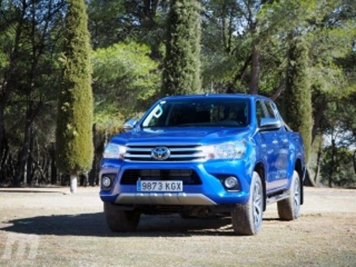 Foto 2 - Fotos prueba Toyota Hilux 2018