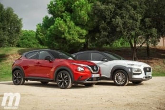 Foto 1 - Galería comparativa Nissan Juke vs Hyundai KONA