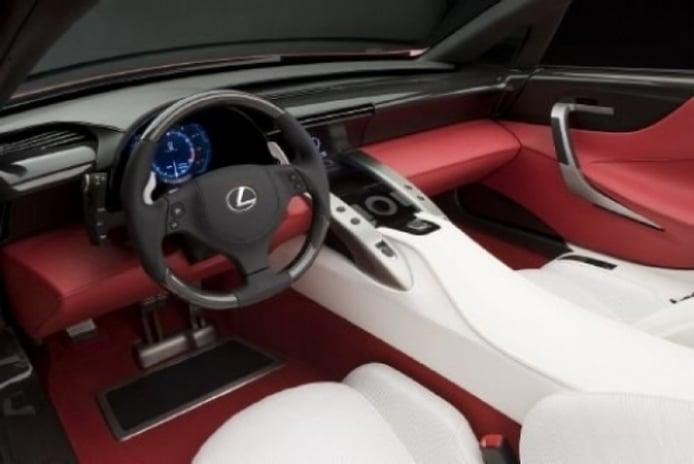 Nuevo Lexus LF-A V10, para el Salón de Coches de Tokio 2009