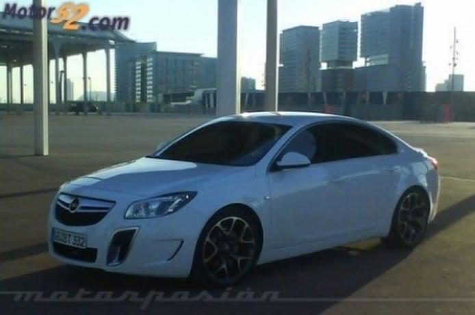 Opel insignia OPC, fotos espias