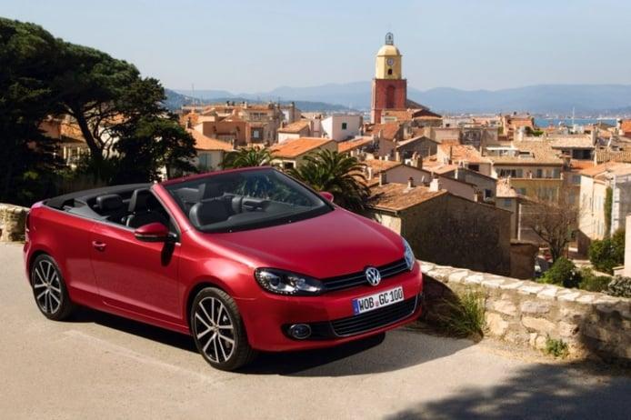 Precios para la gama española del  nuevo Volkswagen Golf Cabrio