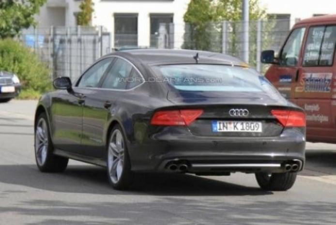 Primeras fotos espías del Audi S7 sin camuflaje.