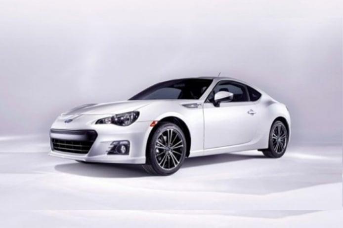 El Subaru BRZ en fotos oficiales