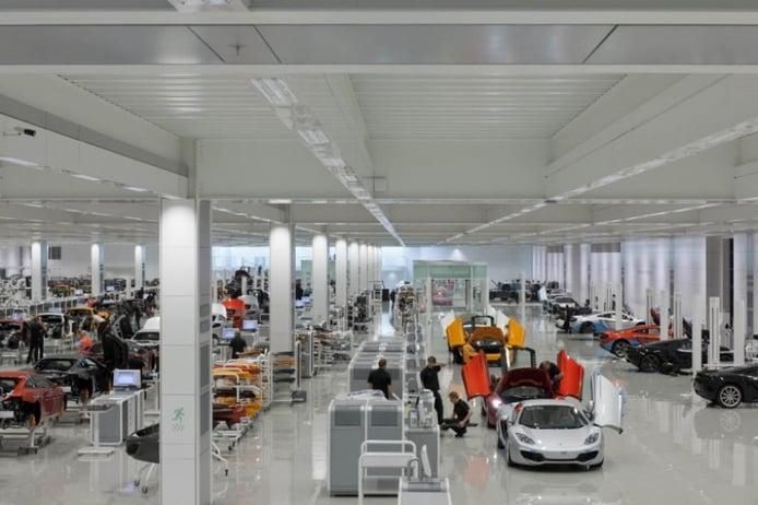 McLaren comienza la fabricación del MP4-27