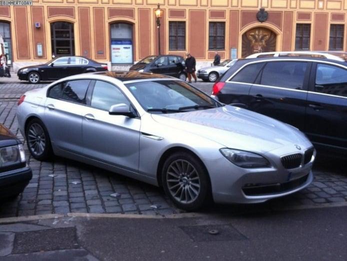 Vemos el BMW Serie 6 Gran Coupé a pie de calle
