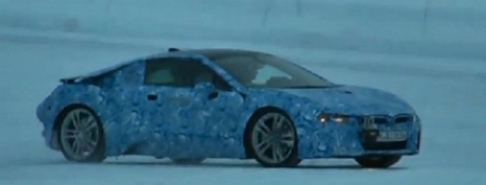 Vídeo espía: BMW i8 en pruebas de invierno