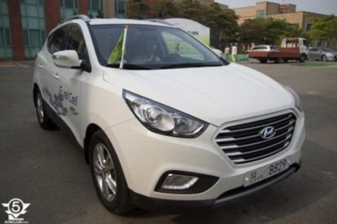 El Hyundai ix35 2013 aparece sin ningún tipo de camuflaje