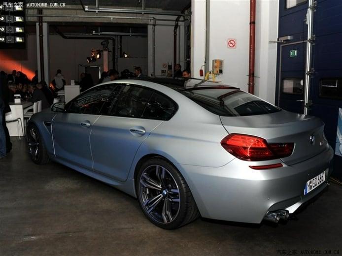 BMW M6 Gran Coupé, por primera vez al desnudo