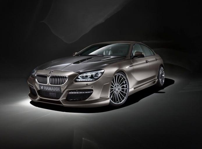 El BMW Serie 6 Gran Coupé, más agresivo por Hamann