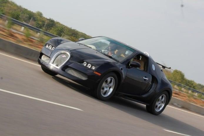 Convirtiendo un Suzuki Swift en un Bugatti Veyron