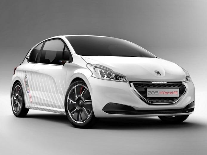 Peugeot 208 HYbrid FE, demostración híbrida de bajo consumo en forma de prototipo