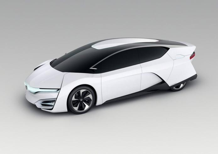 Honda FCEV Concept, el nuevo prototipo japonés con pila de hidrógeno