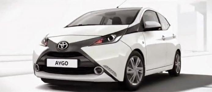 Nuevo Toyota Aygo, así es su diseño en sus primeras imágenes