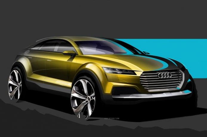 Audi Q4 se desvela en bocetos antes de su aparición en China
