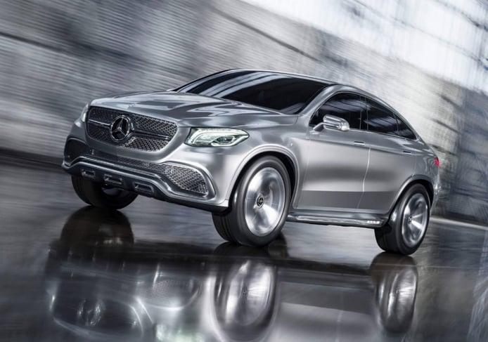 Mercedes-Benz Concept Coupe SUV, al descubierto
