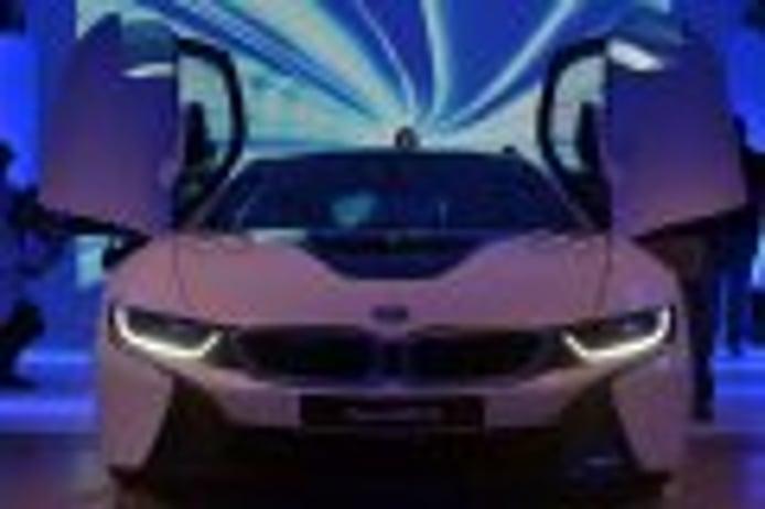 BMW i8 (I): diseño exterior e interior