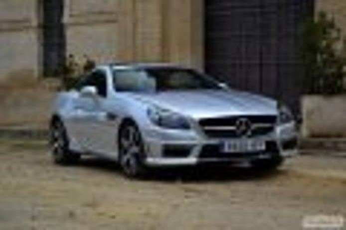 Mercedes-Benz SLK 55 AMG (I): estética exterior, interior y precios