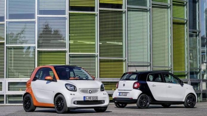 Smart ForTwo y Smart ForFour 2015, primeras imágenes de los nuevos Smart