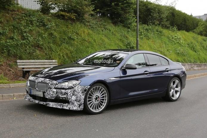 El BMW Alpina B6 Gran Coupe 2015 se pasea por Nürburgring