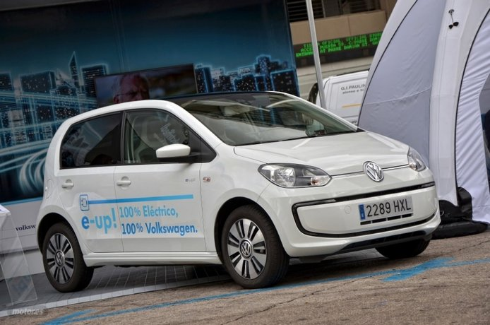 Eléctricos e híbridos VW (I): Volkswagen e-up!