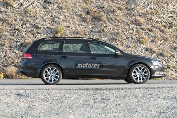 El futuro Volkswagen CrossBlue 2016 pillado durante pruebas