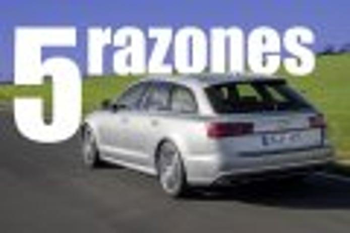 5 razones para elegir un Audi A6 Avant frente a la berlina