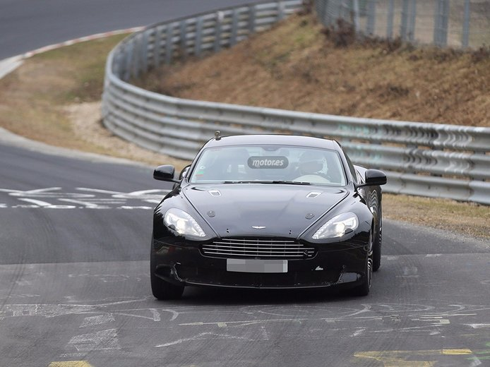 Aston Martin DB9 2016, primeras imágenes que vemos