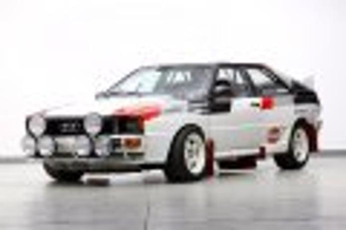 Sale a subasta un Audi Quattro A1 del Grupo B