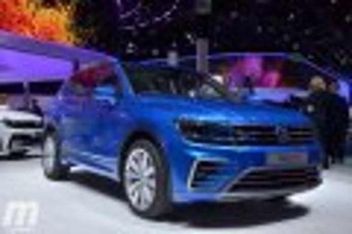Volkswagen Tiguan GTE Concept, híbrido enchufable con 218 CV