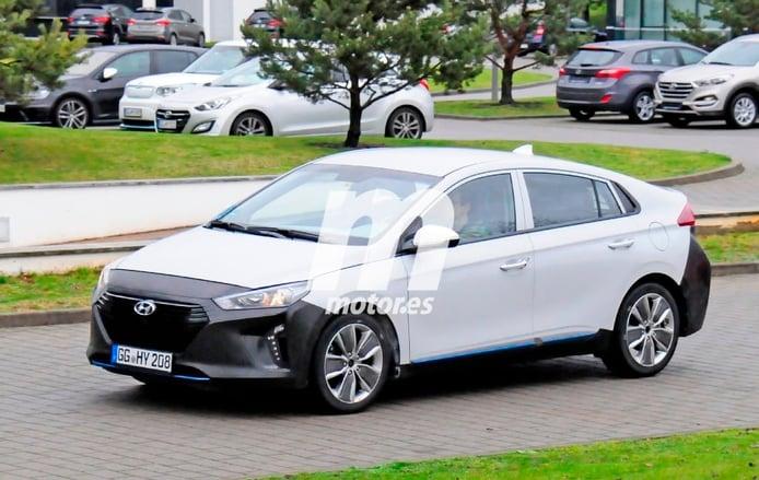 Hyundai IONIQ 2016, fotos espía del híbrido coreano