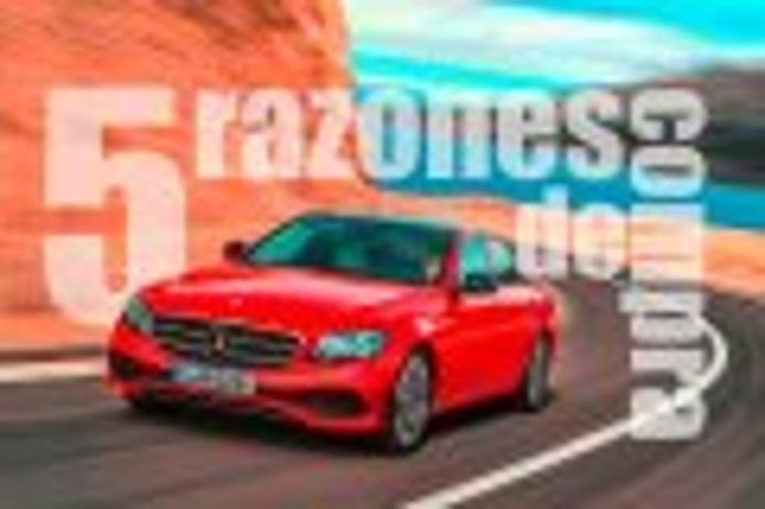 Mercedes Clase E 2016, 5 razones de compra frente a sus competidores
