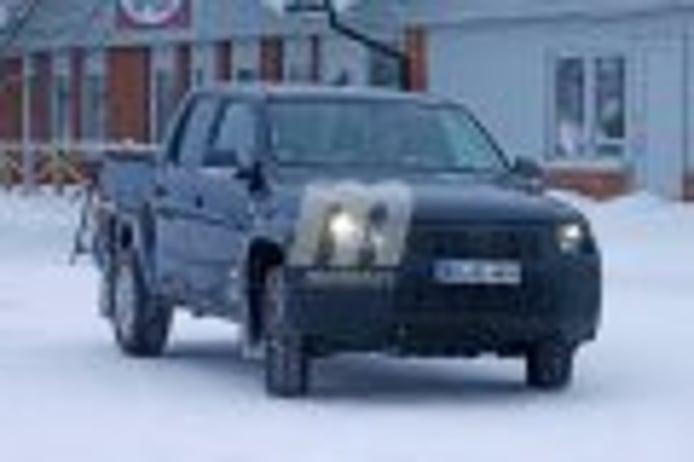 Fotos espía del Volkswagen Amarok facelift