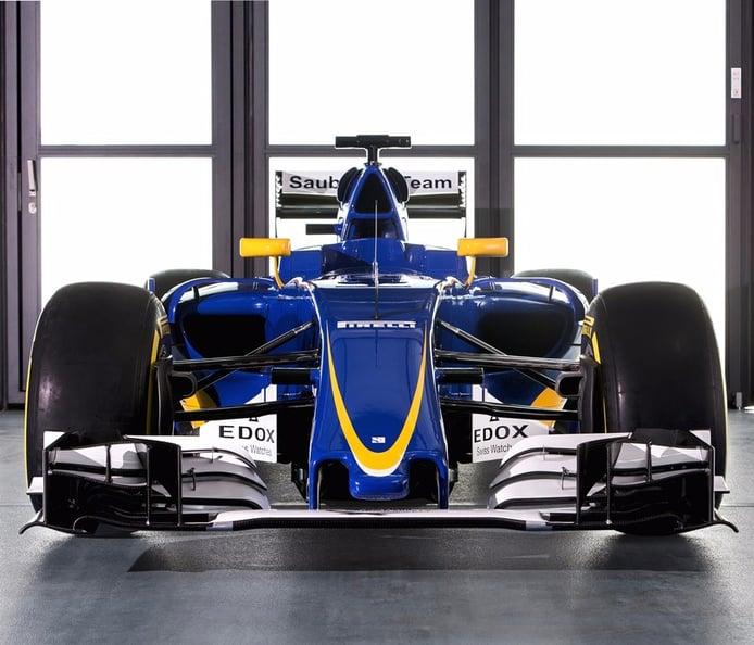 Sauber desvela su nuevo coche de 2016, el C35