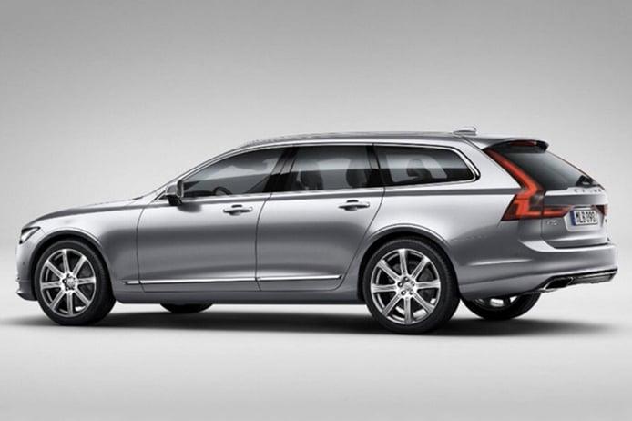 El nuevo Volvo V90 al desnudo gracias a esta filtración